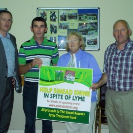 Sinead Kearney Lyme Treatment Fund
